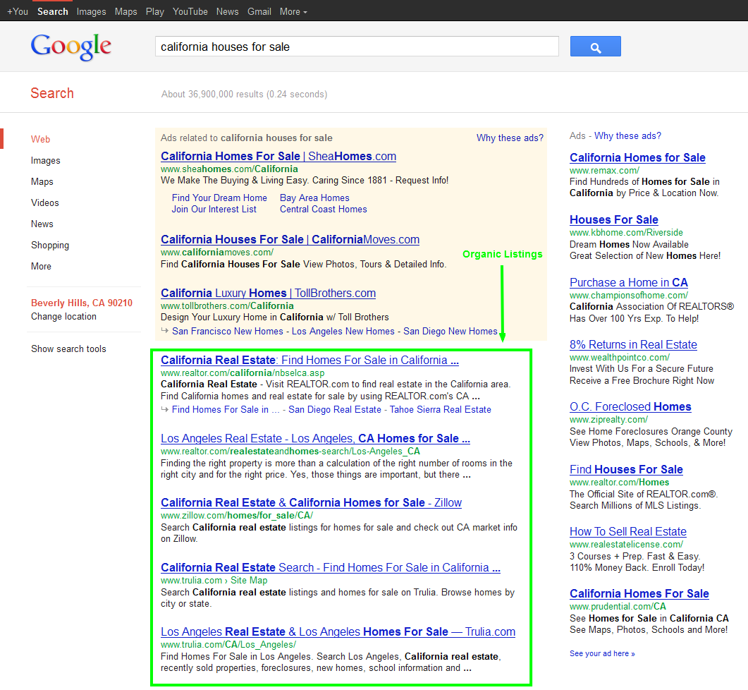 get real result in local seo, national seo with the marketing cartel